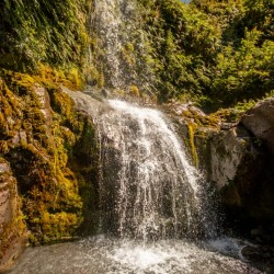 42. Magical waterfalls on Mount Taranaki