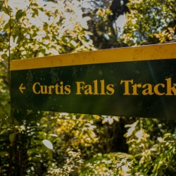 1. Curtis Falls Track Sign