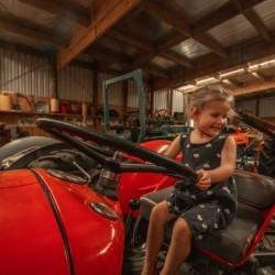 Tractor Museum at Tawhiti