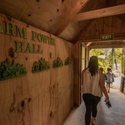 Farm Power Hall at Tawhiti Museum