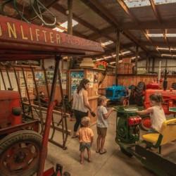 Tractor Fun at Tawhiti Museum